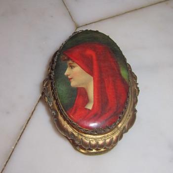 Saint Fabiola Jewelry Casket c 1920's - Fine Jewelry