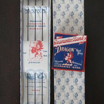 Dragon Germany Hair Pins in original packaging - Fine Jewelry