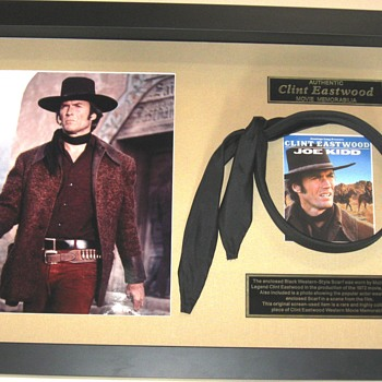 Clint Eastwood . . . Western Scarf - Movies