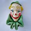 My 4th addition... Vintage ELZAC Clown Brooch Pin