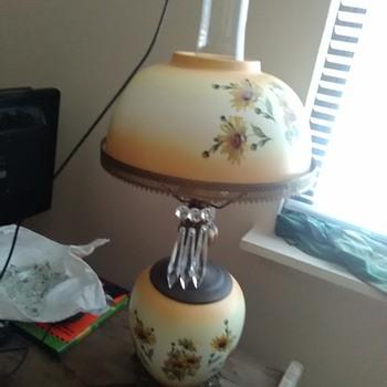 Daisy lamp Crystal