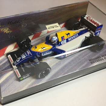 Minichamps Williams FW14 1991 Riccardo Patrese 1/43 - Model Cars