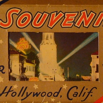Hollywood Miniature Souvenir Postcards