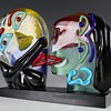 My  new Murano glass Picasso style sculpture