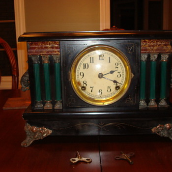 Antique Sessions Clock