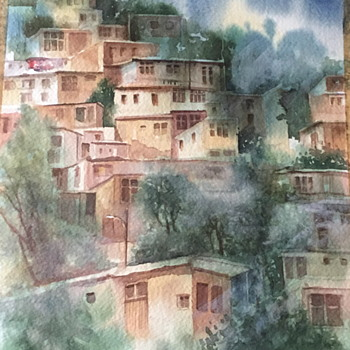 Nice water color / colour painting.