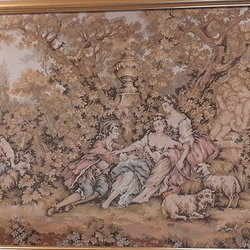 """Still need help on this """"Tapestry"""", I have no idea what country of origin. No one can tell me. - Rugs and Textiles"""