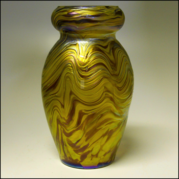 The wait is over,Rindskopf Corrugated, Circa 1900(UPDATE) - Art Glass