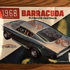 Original Rare Never Re-released 1968 Barracuda Fastback Model Kit