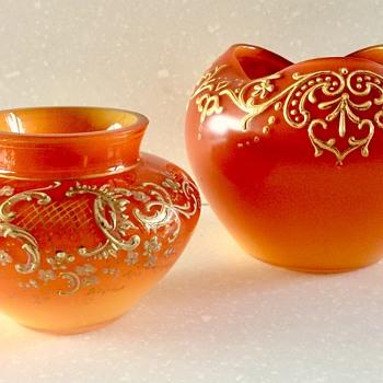 My 'MINI ME'...Early Loetz c1890 ..DEK I/200 - Art Glass