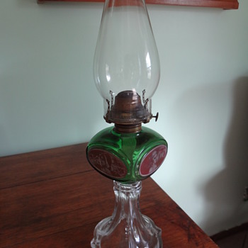 """Four Women"" Oil Lamp - Lamps"