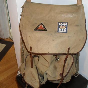 Alexto rucksack or backpack.