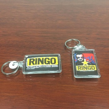 Ringo's personally owned keychain-2001 - Music Memorabilia