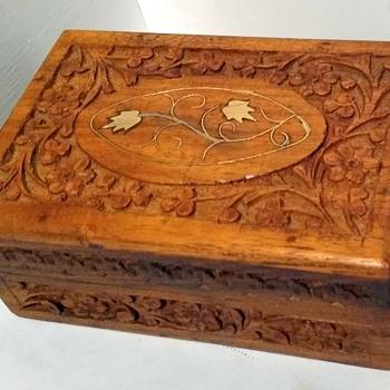 Wooden Trinket Box  - Accessories