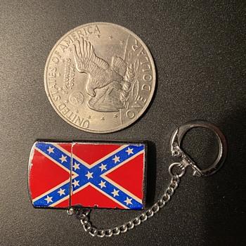 Confederate Keychain Lighter - Tobacciana