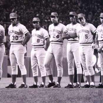 1975 photo of the Big Red Machine  - Baseball