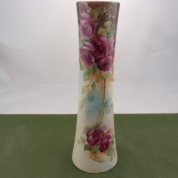 Willets Manufacturing Company Belleek Vase (1879 - 1909) - Pottery