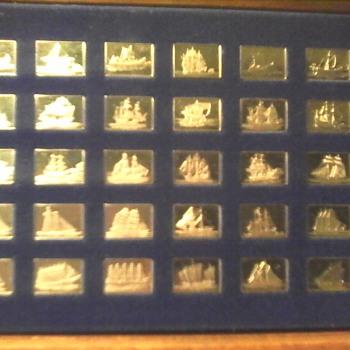 Greatest Ships Sterling Silver Ingots
