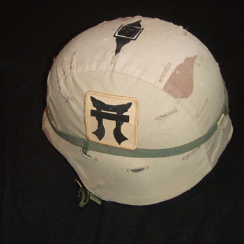 OIF Kevlar Helmet  - Military and Wartime