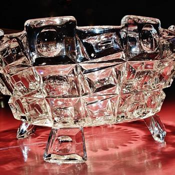 Beautiful Glass Bowl - Art Glass