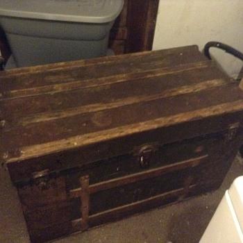 My 1800s steamer trunk? - Furniture