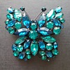 Regency butterfly brooch