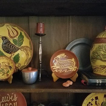 redware collection - Pottery