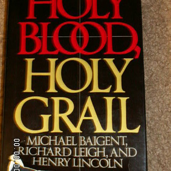 "1982 ""Holy Blood Holy Grail"" by Michael Baigent, Richard Leigh, and Henry Lincoln - Books"