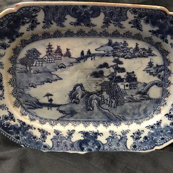 "18th Century Qianlong Chinese Export Plate 10""D - Asian"