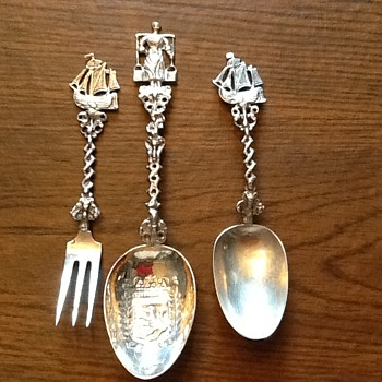 Decorative silver utensils - Silver