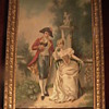 Napoleon & Josephine Oil on Canvas by Tuscano 19th Century