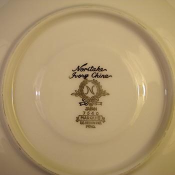 """Japanese Noritake China   """"Marquis"""""""