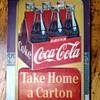 Coca Cola Sign - Take Home A Carton