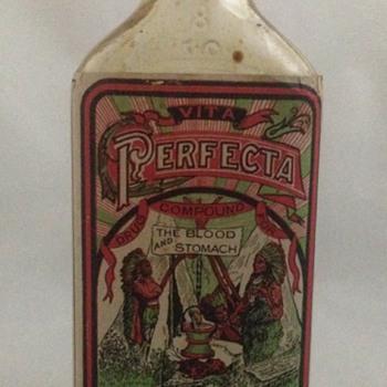 Old Elixer Quack Medicine Bottle - Bottles