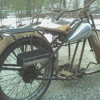 Do you know what year and model this SIMPLEX Motorycle frame is?