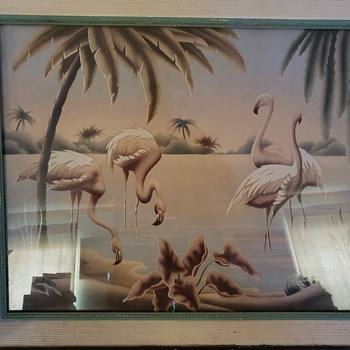 Flamingo Lake! - Fine Art