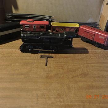 vintage train set compleat - Model Trains