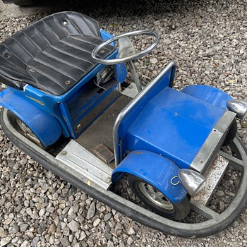 Vintage Bumper Car please help me identify! - Toys