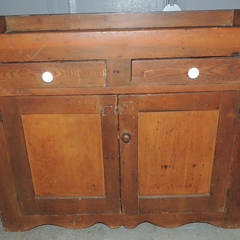 Dry Sink - Mixed Woods Primarily Pine - Furniture