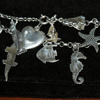 Sterling Charm Bracelet - Fine Jewelry