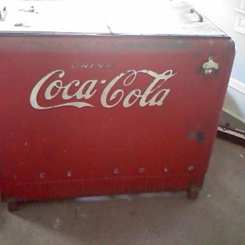 Coca cooler chest cooler - Coca-Cola