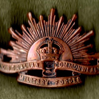 Australian and New Zealand Badges