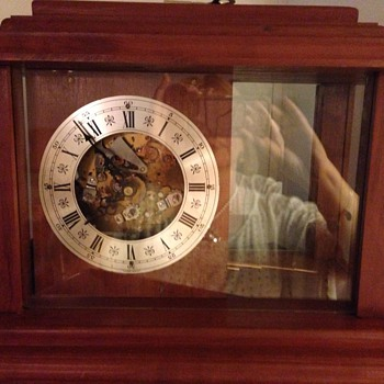 """Western Germany"" Mantel Clock"