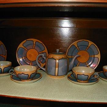 Japanese Tea Pot Set - China and Dinnerware