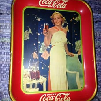 1935 Coca-Cola Tray - Coca-Cola