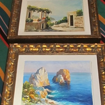 2 paintings by same artist - Fine Art
