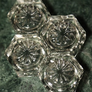 Cut Crystal Candle Holders