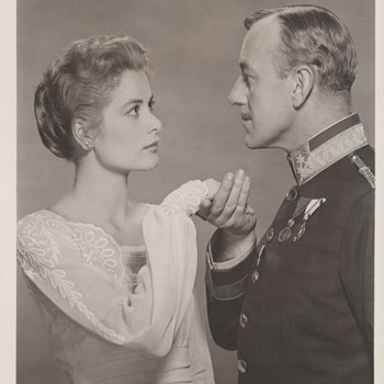 Grace Kelly and Alec Guiness Promo Photo (1956)  - Photographs