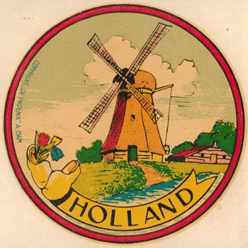 Travel Decal - Holland