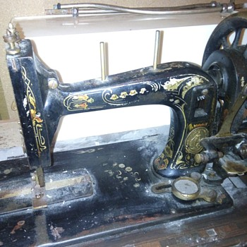 Unknown shuttle sewing machine